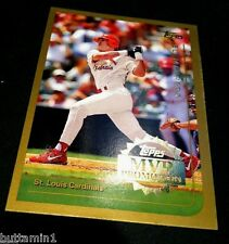 ELI MARRERO 1999 Topps MVP Promotion INSERT Redemption  /100 Made RARE Cardinals