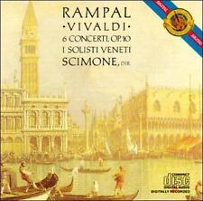 Vivaldi: 6 Flute Concerti Op. 10 Antonio Vivaldi, Claudio Scimone, Jean-Pierre