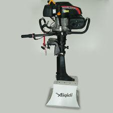 Outboard Motor FOR Boat - 4 Stroke 6 HP, Air cooling, 173CC, 50cm Tiller Shaft