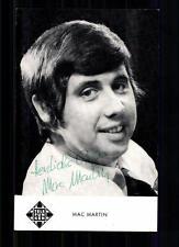 Mac Martin Autogrammkarte Original Signiert ## BC 19424