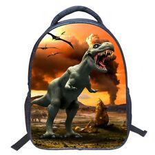3D Animal Dinosaur Pattern Design School Backpack Bag Shoulder For Kids Students