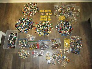 Huge Lot of Lego Minifigures & Accessories 10lbs 11oz super heroes star wars fig