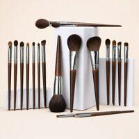 Natural Makeup Brushes Set Eyeshadow Make Up Brush Goat Hair Kit for Makeup