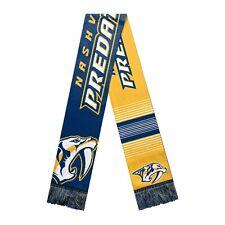 Nashville Predators Reversible Scarf Knit Winter Neck NEW NHL - Split Logo