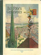 AU PAYS GENEVOIS - MANUEL DE GEOGRAPHIE  1954