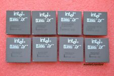 Rare Vintage Gold Ceramic Collectible CPU Intel 386 DX 33MHz A80386DX33 QTY=1