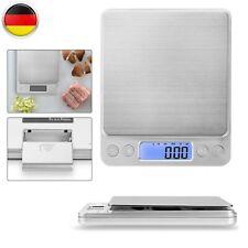 3KG/0,1G DIGITAL LCD KÜCHENWAAGE FEINWAGE PRÄZISION BRIEFWAAGE GOLD&MÜNZWAAGE DE