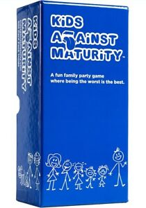 Kids Against Maturity age 8+ Fun Hilarious Family Card Game for parties Humanity