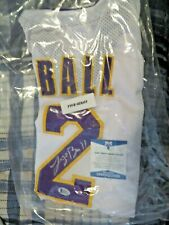 LONZO BALL LOS ANGELES LAKERS SIGNED XL JERSEY - BECKETT CERTIFICATE #2 PICK