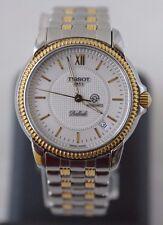 Vintage Luxurious Men's Gold Plated Wrist Watch Tissot Ballade Quartz Automatic