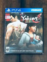 Yakuza 6 The Song Of Life Essence Of Art Edition Case and Book (NO GAME DISC)PS4