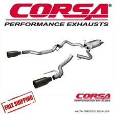 """CORSA 3"""" Cat Back Dual Exhaust System Fits 2017-2019 Ford Raptor Ecoboost 3.5L"""