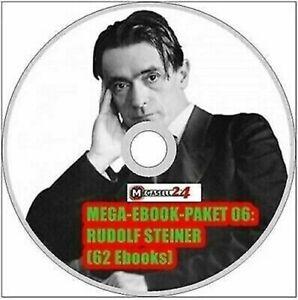 ☝ MEGA EBOOK PAKET 06 RUDOLF STEINER CD 62 eBooks Literatur Sammlung Wow PDF NEU