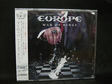 EUROPE War Of Kings + 1 JAPAN CD Treat Thin Lizzy Gary Moore MSG John Norum