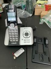 VTech Cordless Phone System w/ Caller ID Call Waiting DECT 6.0 Silver (CS6529)™