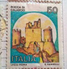 Italy stamps - Castello di Calascio  50 lira 1983