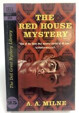 RED HOUSE MYSTERY Milne DELL D 321 Mystery