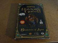 PC CD ROM Game Baldur's Gate II Shadows of Amn