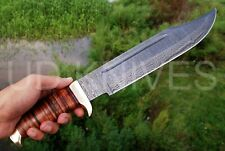 "18"" UD CUSTOM HANDMADE DAMASCUS HUNTING CROCODILE DUNDEE  BOWIE KNIFE .2786"