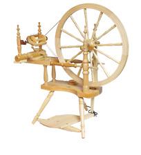 Kromski Polonaise Clear Finish Spining Wheel FREE SHIPPING Special October Bonus