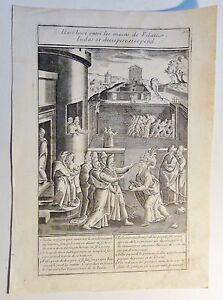 vermutl. Antonie WIERIX (c.1552-c.1624) Kupferstich um 1590: Il est tiure... -