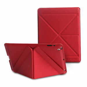 S-Fun 2nd Ed. Leather case for iPad 2/3/4 - Red By daruma