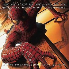Spider-Man Original Motion Picture Score by Danny Elfman (CD) New in Shrink Wrap