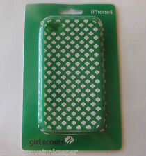Girl Scout CASE FOR APPLE iPHONE 4, 4S Silicone Trefoil Cell Phone Cover Shell