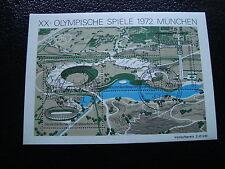 ALLEMAGNE RFA timbre yt bloc n°6 obl  - stamp germany