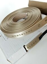 MONTBLANC Original Gift Ribbon Champagne color 25 meters Original in box