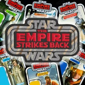 """Hasbro Kenner STAR WARS """"The EMPIRE STRIKES BACK"""" Vintage style logo 4.5"""" patch"""