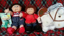 Lot of 4 Vintage Cabage Patch Kid Doll Mixed Collection