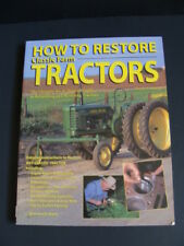 How to Restore Classic FARM TRACTORS Soft Cover Book DIY Guide Rebuild Engine