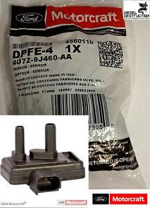 OEM DPFE4 Motorcraft Ford EGR Valve Pressure Feedback Sensor 4U7Z-9J460-AA