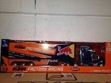 Gift Boxed Motocross 2018 KTM Red Bull Team USA Model Racing Truck Scale 1 32