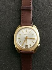 MENS 218 BULOVA ACCUTRON WRISTWATCH FROM 1973 WITH DATE KEEPING TIME