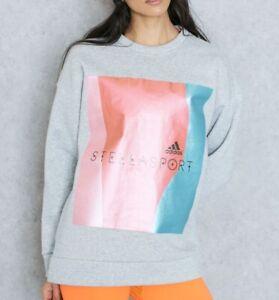 Adidas Womens Aktiv Long Sleeve Top Running Fitness Gym Sweatshirt - NEW