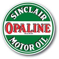SINCLAIR OPALINE GASOLINE OIL SUPER HIGH GLOSS OUTDOOR 4 INCH DECAL STICKER