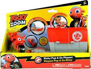 Ricky Zoom Ricky Pop & Go Playset