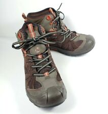 Merrell Capra Mid WTPF Boots Size US 4W EU 36 Brown Ankle Lace Up Hiking Leather