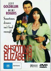 Shooting Elizabeth DVD 1992 Jeff Goldblum, Mimi Rogers COMEDY OOP
