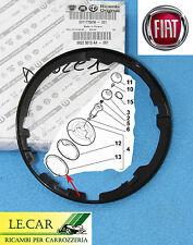 CORNICE GHIERA ANELLO DECORATIVO NERA CUFFIA CAMBIO FIAT 500 dal 7/2007 >