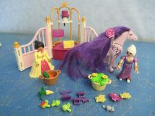 6855 Königlicher Pferdestall zu Prinzessinnenschloss  Playmobil 7691