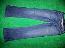 Women's Rock & Republic Flare Cut Blue Jeans Cotton Blend Size 26 (29/34)