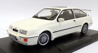 Norev 1/18 Scale Model Car 182771 - 1986 Ford Sierra RS Cosworth  - White