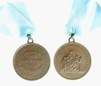 s731_16) Medaglia Religiosa Premio Di Frequenza Alla Dottrina Cristiana - mm 25