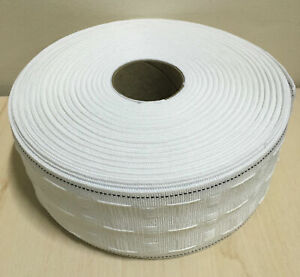 CURTAIN HEADING HEADER TAPE~PENCIL PLEAT~75mm(3 Inch) WIDE~VARIOUS LENGTHS ~