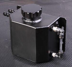 1L Coolant Water Expansion Tank Bottle Header Aluminium Alloy Universal Kit Car