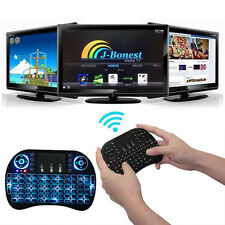 US 2.4Ghz Wireless Backlit Keyboard Touchpad Mouse for Raspberry Pi PC Android