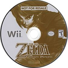 Legend of Zelda Twilight Princess Kiosk Demo Disc + Bonus Disc